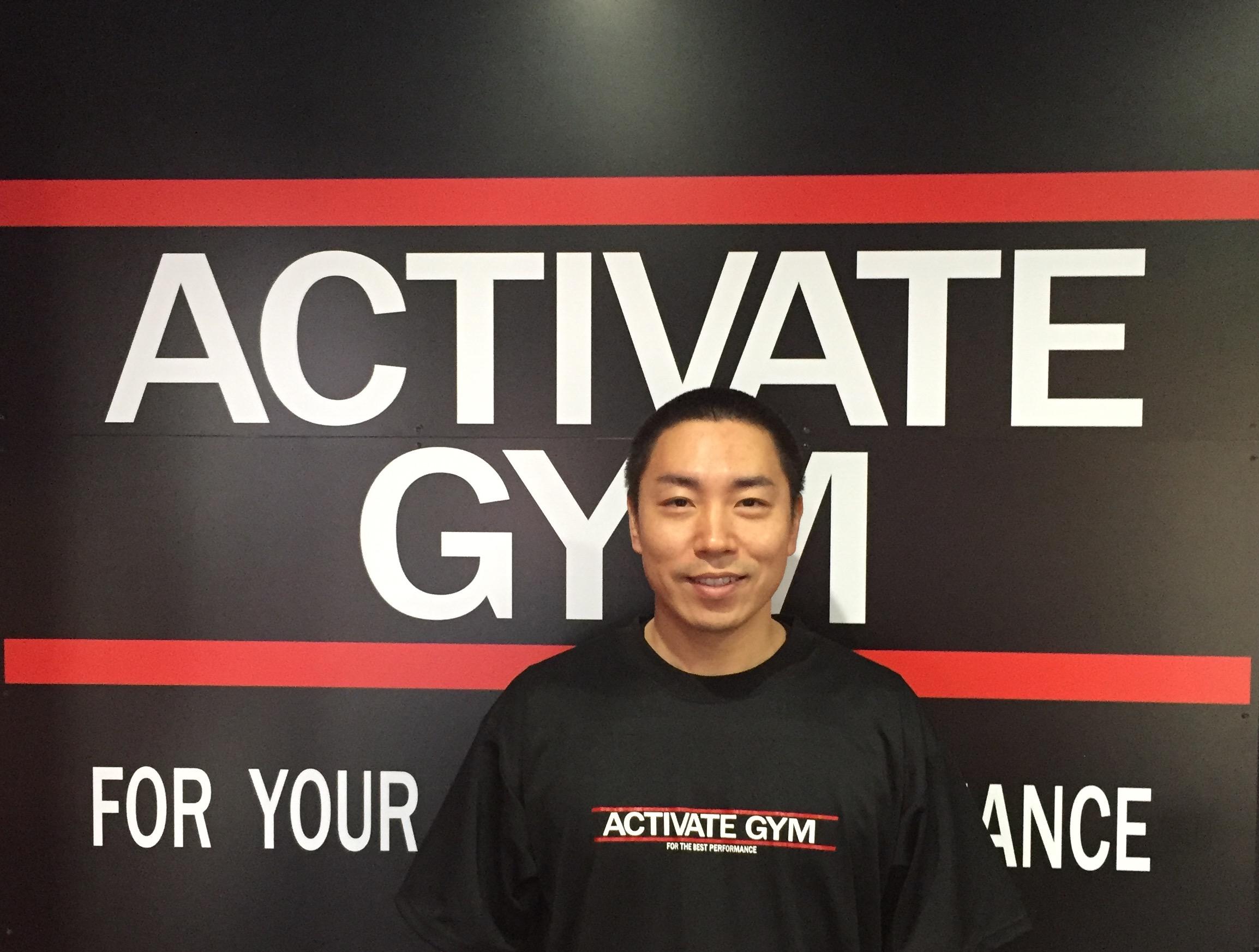 トレーナー activate gym 静岡県浜松市中区のパーソナルトレーニングジム